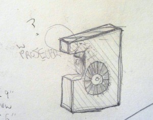 tiny crap sketch of how case for Kinora reel