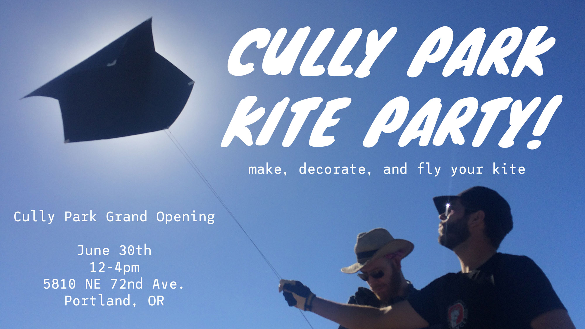 Cully Park Kite Party